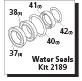Seal Kit (SKU: 70-0458)