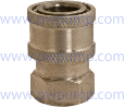 "1/4"" Coupler FPT - Stainless Steel (SKU: 14FS-SS)"