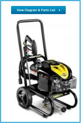 BRUTE Pressure Washer 020384-00 replacement parts