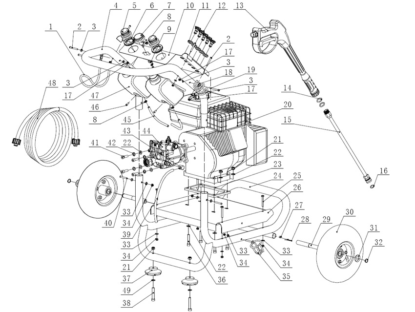 keywords rh ppe pressure washer parts com simoniz pressure washer parts diagram Water Pressure Washer Pump Replacement
