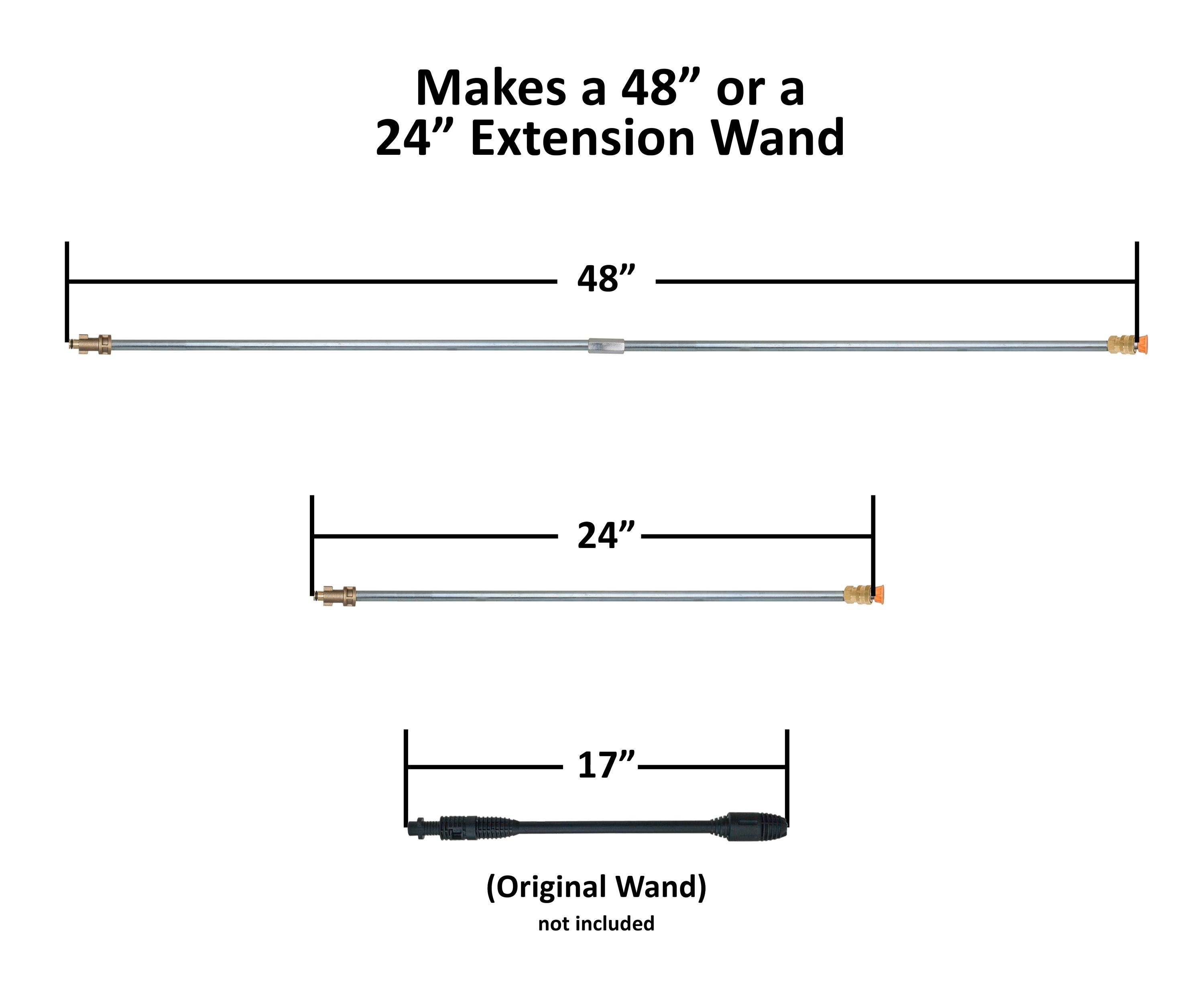 Extension Wand 24 48 Quot