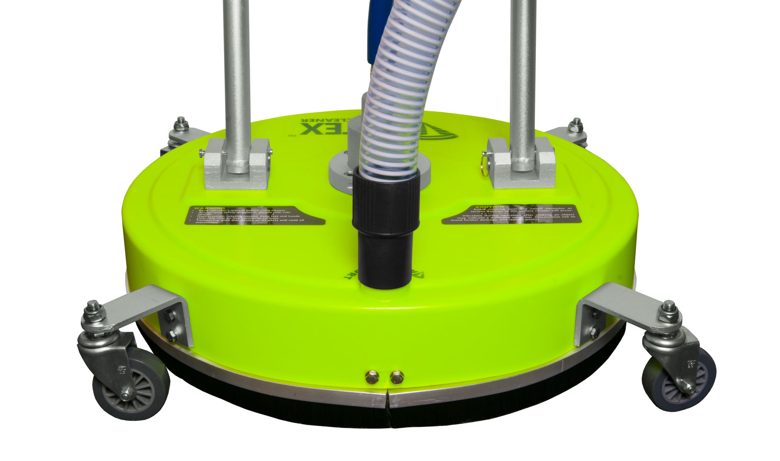 Quot surface cleaner with vacuum port by vortex