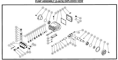 CW-2505-3MGH Pressure Washer Parts, Pumps, Repair Kits, Breakdowns & Manuals