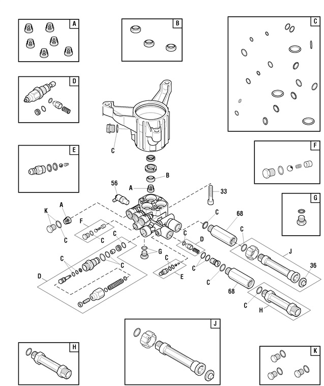 707476 pump breakdown & parts