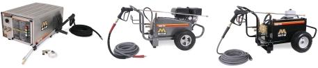 MI-T-M Pressure Washer CW Models with breakdowns, repair kits, replacement pumps & owners Manual.