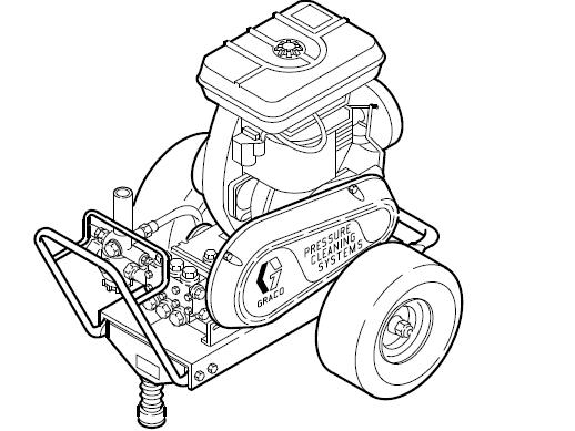 GRACO 2245 (800062) Cold Water Pressure Washer Breakdown, Parts, Pump, Repair Kits & Owners Manual.