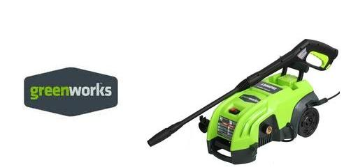 GreenWorks 51052 Electric Pressure Washer replacement parts & Owners Manual