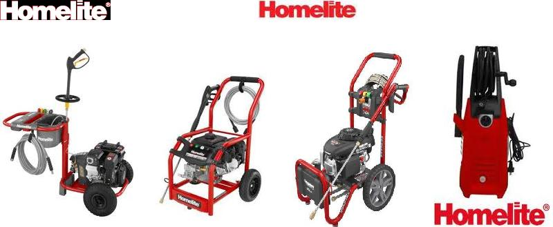 HOMELITE  Pressure Washer Replacement Parts