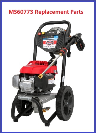SIMPSON® MS60773 Pressure Washer Parts, Accessories, Breakdown & Owners Manual