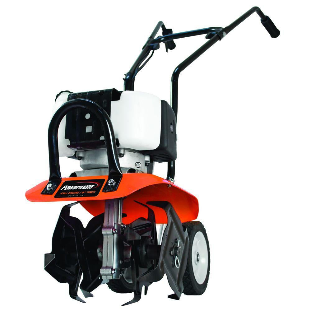 Powermate 10 in. 43 cc 2-Cycle Gas Cultivator pcv-43