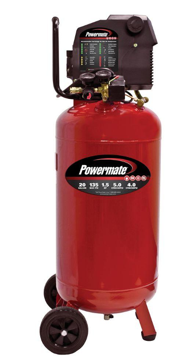 POWERMATE PL1582619 Air Compressor Parts & Manual