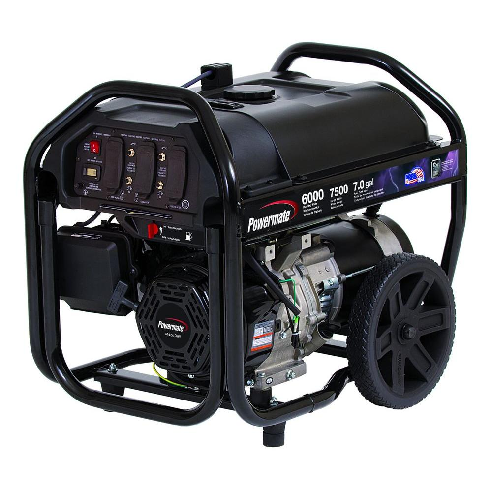 POWERMATE PM0126000 Generator Parts and manual