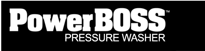 PowerBOSS Pressure washer replacement parts and help 1-888-279-9274