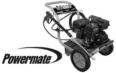 Coleman powermate pressure washer PW0102405 replacement parts