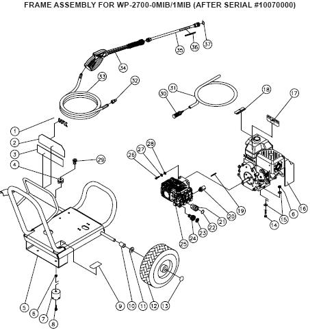John Deere Ac 2700gh Pressure Washer Parts Manual Breakdowns