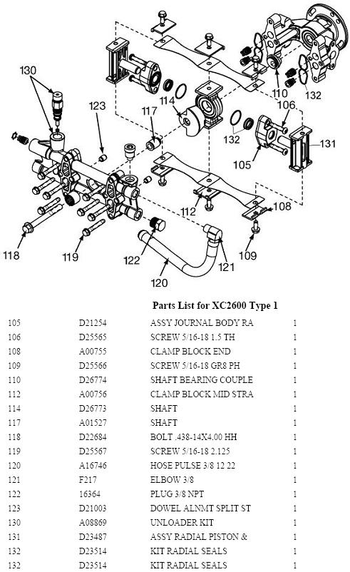 XC2600 PUMP PARTS PPE 3 excell pressure washer model xc2600 replacement parts, repair kits pressure washer pump parts diagram at bayanpartner.co