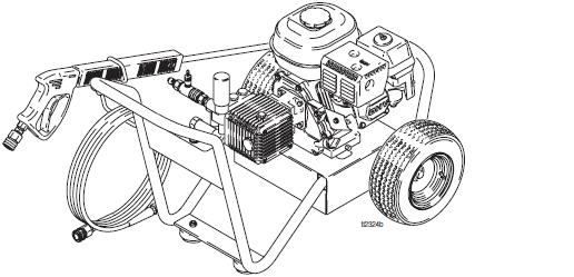 GRACO 2730 (246307) Cold Water Pressure Washer Breakdown, Parts, Pump, Repair Kits & Owners Manual.