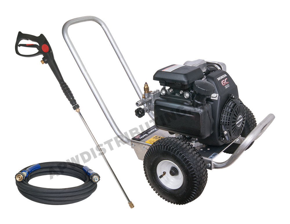 2700 psi 2 5 gpm pressure washer with honda engine for Power washer with honda motor