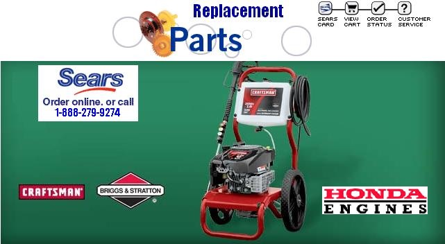 troy bilt 1903 pressure washer parts and accesories