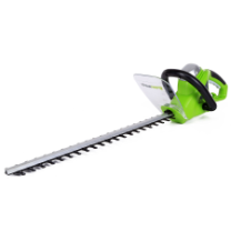 "GREENWORKS 22"" AC HEDGE TRIMMER"