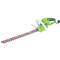 "GREENWORKS 22"" AC ROTATING HANDLE HEDGE TRIMMER"