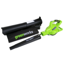 GREENWORKS 40V GMAX DIGIPRO BLOWER/VAC - BRUSHLESS
