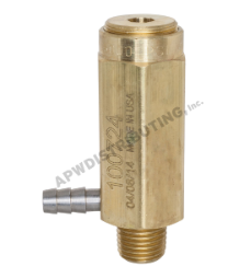 Safety Relief Valves: Side Dishcharge with Hose Barb