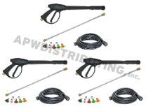 25' Hose, Gun, Wand, Tip Kit (3 PACK)