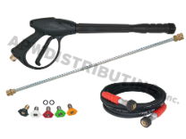 50' Hose, Gun, Wand, Tip Kit (15mm)