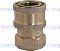 "1/4"" Coupler FPT - Stainless Steel"