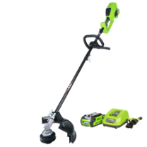 GREENWORKS 40V GMAX DIGIPRO TOP MOUNT BRUSHLESS STRING TRIMMER - ATTACHMENT CAPABLE