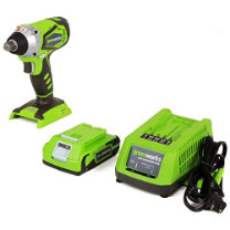 GREENWORKS G-24 24V 2.0AH(2) IMPACT WRENCH