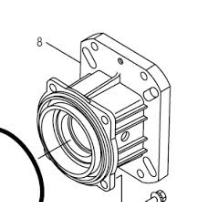 Adapter bearing cover