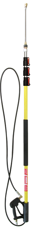 24' 4-STAGE FIBERGLASS TELESCOPING WAND