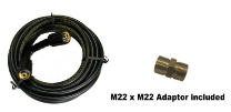Extension Hose with Adaptor - 25'