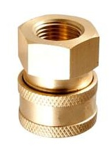 "Coupler 3/8"" FPT - QC Fitting"