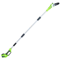 GREENWORKS 40V CORDLESS POLE SAW - TOOL ONLY