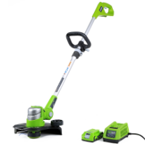 G24 GREENWORKS STRING TRIMMER