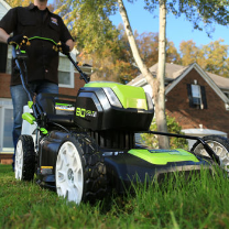 "GREENWORKS 80V 4.0AH 21"" LAWN MOWER"