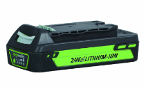 GREENWORKS 24V 2.0AH BATTERY (ENHANCED)