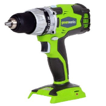 GREENWORKS G-24 24V 2.0AH CORDLESS DIGIPRO 2 SPEED COMPACT DRILL