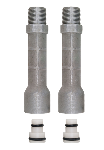 2 Outlet Tubes