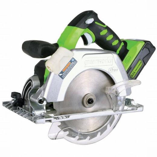 GREENWORKS 24V CIRCULAR SAW - TOOL ONLY