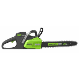 "GREENWORKS 80V 2.0AH 18"" CORDLESS CHAINSAW (SKU: 2000002)"