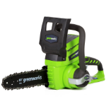 G24 GREENWORKS CHAIN SAW - TOOL ONLY (SKU: 2000102)