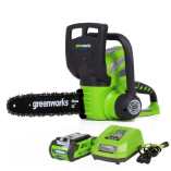 GREENWORKS 40V 2.0AH CORDLESS CHAIN SAW (SKU: 20262)