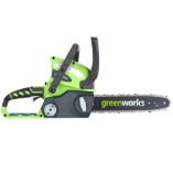 GREENWORKS 40V CORDLESS CHAIN SAW - TOOL ONLY (SKU: 20292)