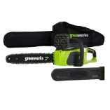 GREENWORKS 40V 4.0AH CORDLESS CHAIN SAW, BRUSHLESS - TOOL ONLY (SKU: 20322)