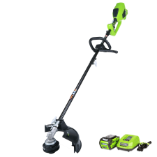 GREENWORKS 40V GMAX DIGIPRO TOP MOUNT BRUSHLESS STRING TRIMMER - ATTACHMENT CAPABLE  (SKU: 21362)