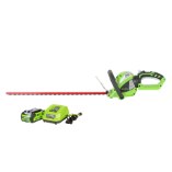 GREENWORKS 40V 2.0AH CORDLESS HEDGE TRIMMER (SKU: 22262)